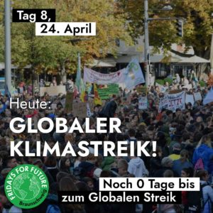 Globaler Streik (Klimagerechtigkeit, Energiewende, Verkehrswende)